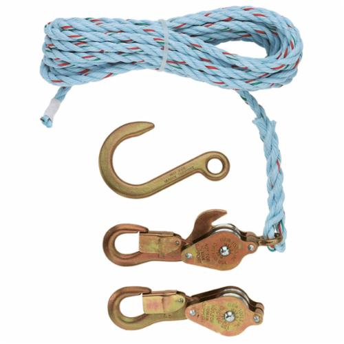 Campbell CHB300 3 Hand Line Utility Block with Latched Swivel Hook 3 Sheave 5//8 Rope 3 Sheave Campbell Chain 7380300 5//8 Rope
